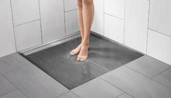 Am nagement d 39 une salle de bain avec douche italienne for Douche italienne sur plancher