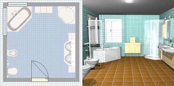 Salle de bain en 3d les logiciels en ligne et leur for 3d salle de bain